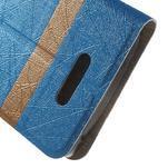 Linie pouzdro na mobil Lenovo A2010 - modré - 6/6