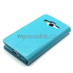 Tyrkysové pouzdro na Samgung Galaxy Core Prime - 6