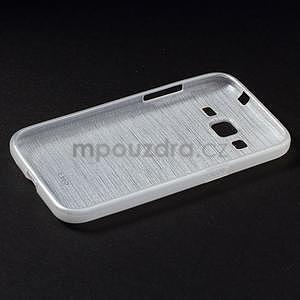 Brúsený gélový kryt pre Samsung Galaxy Core Prime - transparentný - 6