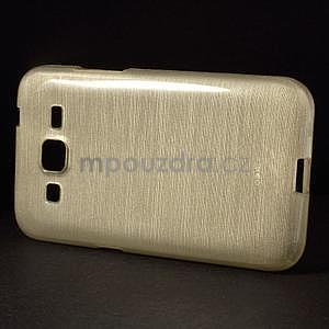 Brúsený gélový kryt pre Samsung Galaxy Core Prime - zlatý - 6