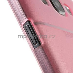 Plastový kryt na mobil Samsung Galaxy E7 - růžový - 6