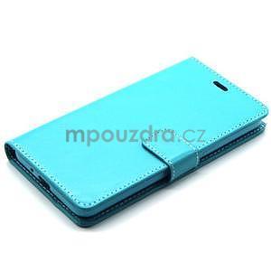 Tyrkysové puzdro na Samsung Galaxy Grand Prime - 6