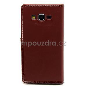 hnedé puzdro na Samsung Galaxy Grand Prime - 6