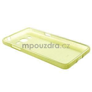 Brúsený gélový obal pre Samsung Galaxy Grand Prime - zelený - 6