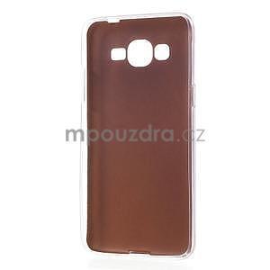 Ultratenký kožený kryt na Samsung Grand Prime - zlatý - 6