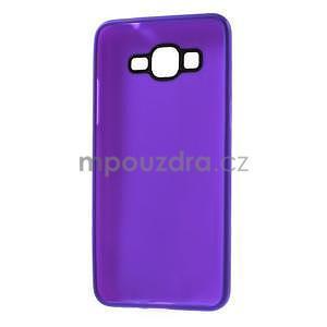 Tenký pogumovaný obal pre Samsung Galaxy Grand Prime - fialový - 6