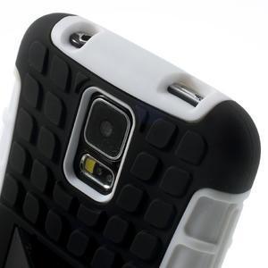 Outdoor odolný kryt pre mobil Samsung Galaxy S5 - biely - 6