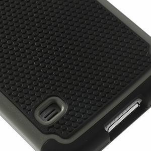 Odolný obal 2v1 pre mobil Samsung Galaxy S5 - šedý - 6