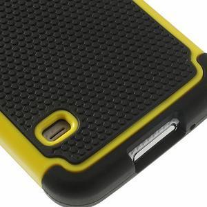 Odolný obal 2v1 na mobil Samsung Galaxy S5 - žlutý - 6
