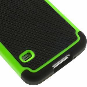 Odolný obal 2v1 na mobil Samsung Galaxy S5 - zelený - 6