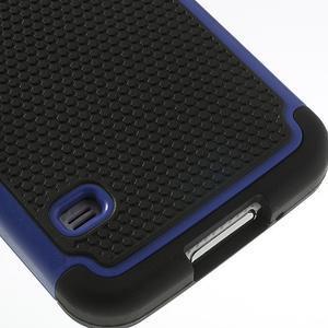 Odolný obal 2v1 na mobil Samsung Galaxy S5 - modrý - 6
