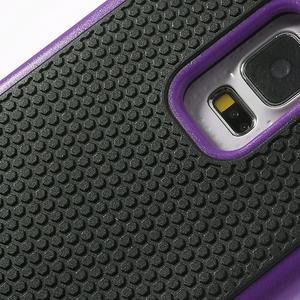 Odolný obal 2v1 na mobil Samsung Galaxy S5 - fialový - 6