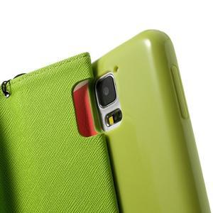 Colory PU kožené pouzdro na mobil Samsung Galaxy S5 - variant I - 6