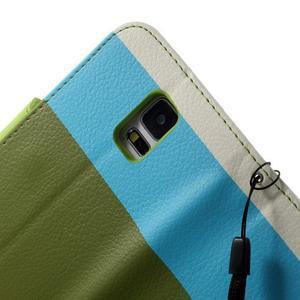Colory PU kožené pouzdro na mobil Samsung Galaxy S5 - variant IV - 6