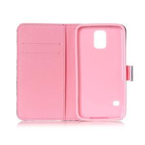 Stand peňaženkové puzdro pre Samsung Galaxy S5 mini - smile - 6