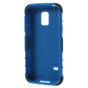 Outdoor odolný obal pre mobil Samsung Galaxy S5 mini - modrý - 6