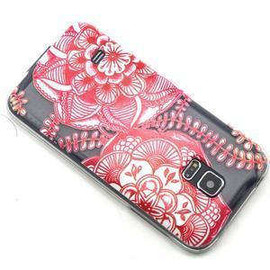 Transparentní gelový obal na mobil Samsung Galaxy S5 mini - mandala - 6