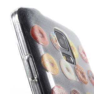 Gélový kryt pre mobil Samsung Galaxy S5 mini - donut - 6