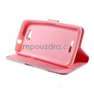 Peňaženkové puzdro na Sony Xperia E4g - kvitnúca vetvička - 6