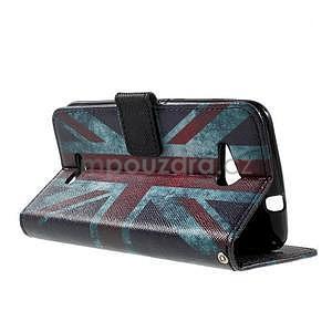 Peňaženkové puzdro na Sony Xperia E4g - UK vlajka - 6