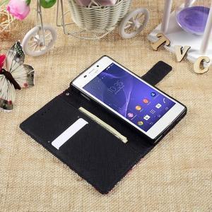 Standy peněženkové pouzdro Sony Xperia M2 Aqua - kouzelní motýlci - 6