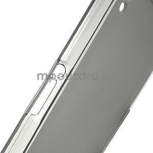 Šedý matný gelový obal na Sony Xperia Z2 - 6