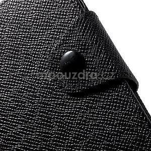 Černé peněženkové pouzdro na Sony Xperia Z3 Compact - 6