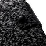 Černé peněženkové pouzdro na Sony Xperia Z3 Compact - 6/7