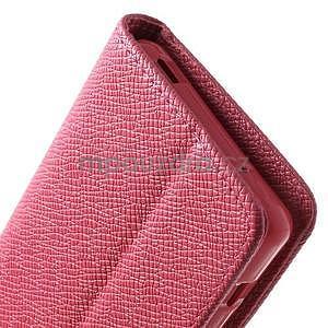 Rose peněženkové pouzdro na Sony Xperia Z3 Compact - 6