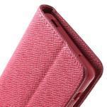 Rose peněženkové pouzdro na Sony Xperia Z3 Compact - 6/7