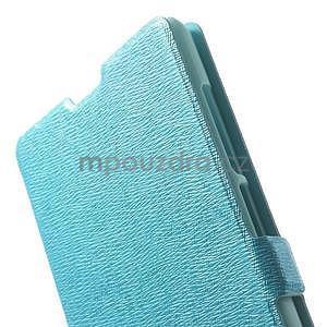 Kožené puzdro na Xiaomi Hongmi Note - světle modré - 6