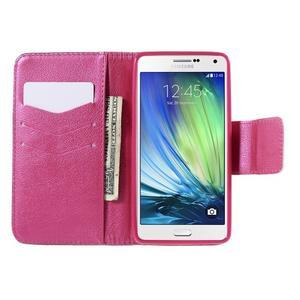 Emotive PU kožené puzdro pre mobil Samsung Galaxy A5 - srdca - 6
