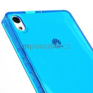 Gélové puzdro na Huawei Ascend P6 - modré - 6