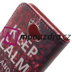 Emotive peněženkové puzdro na Huawei Y5 II - Keep Calm - 6