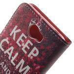 Emotive peněženkové puzdro na Huawei Y5 II - Keep Calm - 6/7