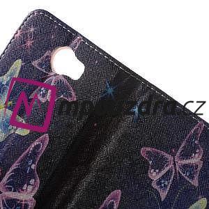 Emotive peněženkové puzdro na Huawei Y5 II - kouzelní motýlci - 6