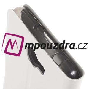 Horse PU kožené puzdro na mobil Huawei Y5 II - biele - 6