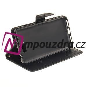 Dandelion PU kožené puzdro na Huawei Y5 II - čierne - 6