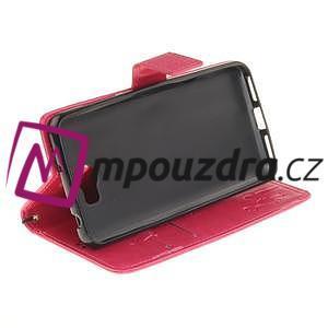 Dandelion PU kožené puzdro na Huawei Y5 II - rose - 6