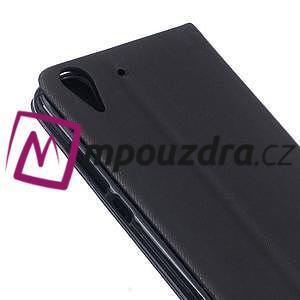 Klopové puzdro na mobil Huawei Y6 II a Honor 5A - černé - 6