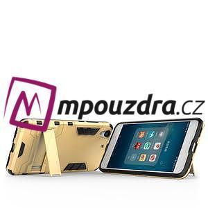 Outdoor odolný obal pre mobil Huawei Y6 II a Honor 5A - zlatý - 6