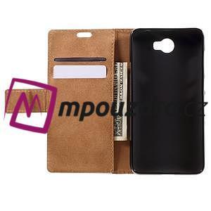 Emotive peňaženkové puzdro na Huawei Y6 II Compact - jesenný strom - 6