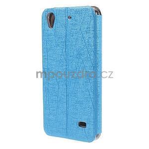 puzdro s okýnky na Huawei Ascend G620s - světle modré - 6