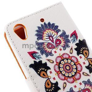 Peňaženkové puzdro na Huawei Ascend G620s - folk - 6