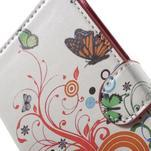 Pěněženkové puzdro na LG G4c H525n - motýlkové - 6/7