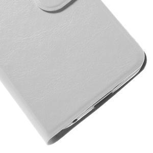 Horse puzdro pre mobil Asus Zenfone 2 Laser - biele - 6