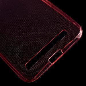 Ultra Tenký slim obal na Asus Zenfone 2 Laser - červený - 6