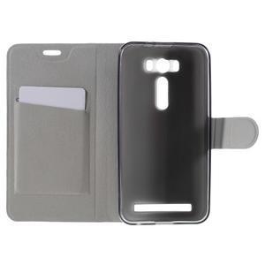 Horse puzdro pre mobil Asus Zenfone 2 Laser - čierne - 6
