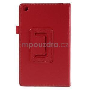 Koženkové puzdro na tablet Asus ZenPad 7.0 Z370CG - červené - 6