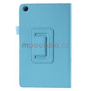 Koženkové puzdro na tablet Asus ZenPad 7.0 Z370CG - svetlomodrý - 6